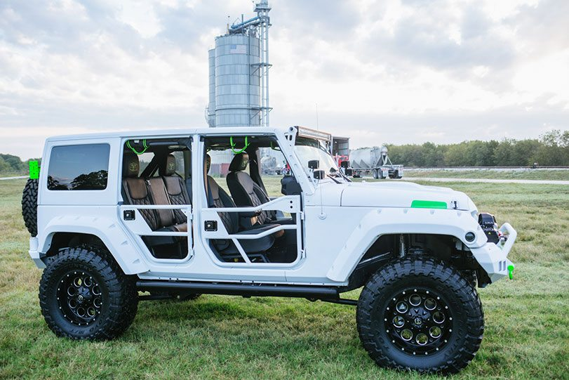 2015 Jeep White Out Edition