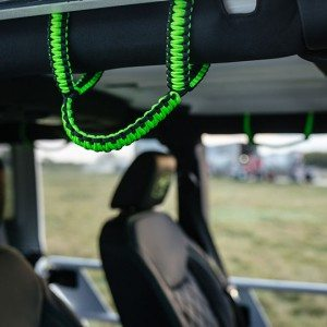 2015 Jeep White Out Edition Grab Rope