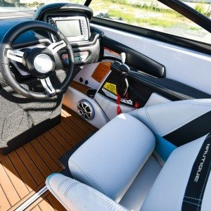 Custom Boat Interior Leather