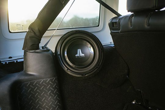 Custom Speaker Install in Trunk