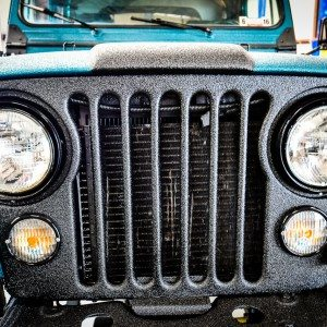 CJ8 Jeep Scrambler Headlights and Grille