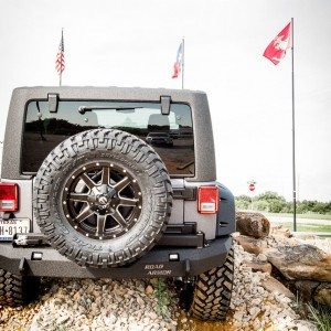 2015 Jeep Ghost Recon Edition Rear View