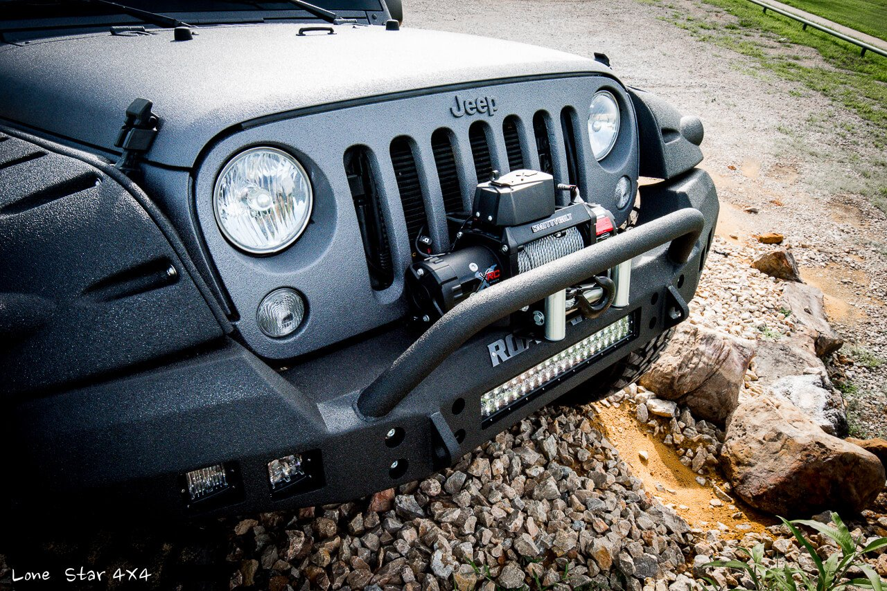 2015 Jeep Ghost Recon Edition Road Armor Front Bumper