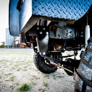 '97 Custom Lifted Ford F250 Front Bumper