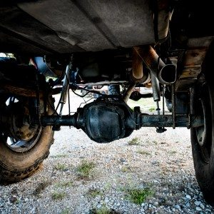 '97 Custom Lifted Ford F250 Axle