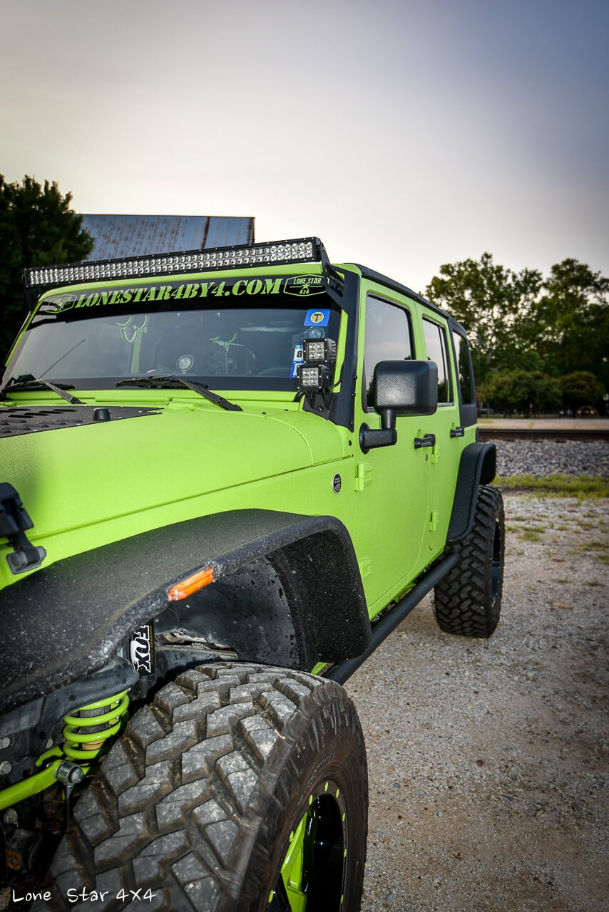Gecko JK Drivers Side Front View