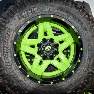 Gecko JK Mounted Spare Tire