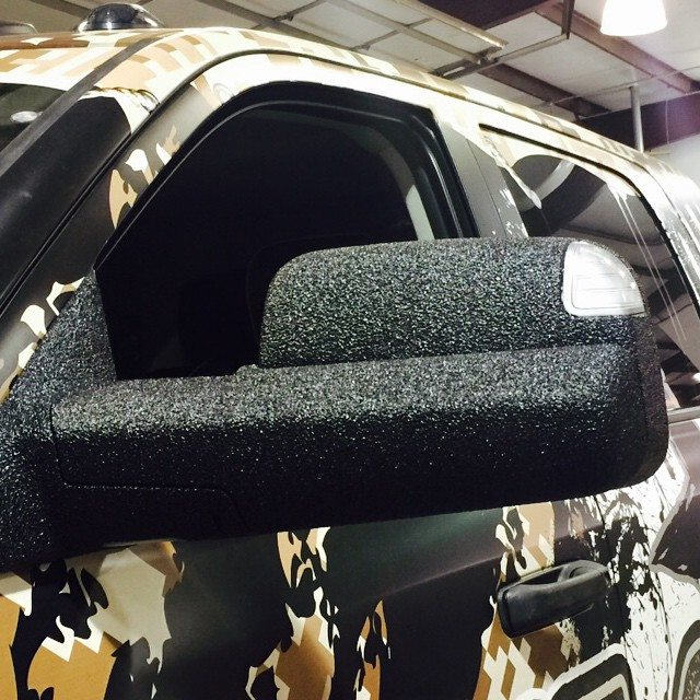 Ram 2500 Sprayed Side Mirrors