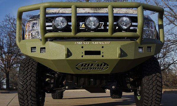 Custom Road Armor Grille Guard