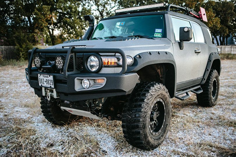 Lifted Ghost Recon FJ