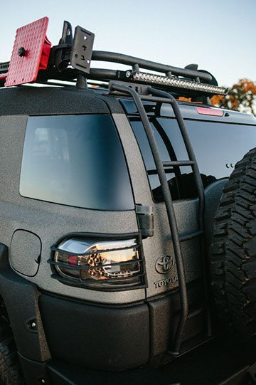 Ghost Recon FJ Tail Light and Gas Cap