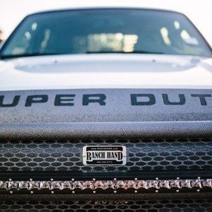 Close up of 2015 F-250 Super Fleet Hood