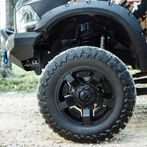 NItto Wheels and Mud Tires