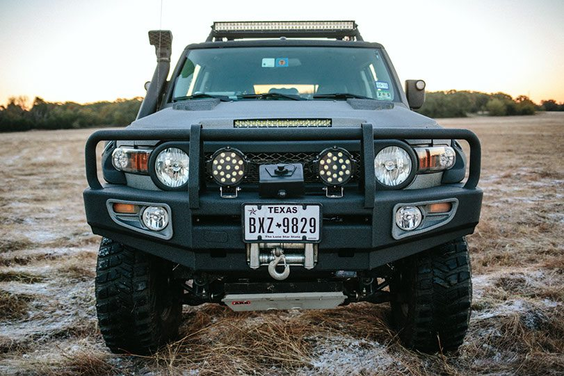 Ghost Recon FJ Front View