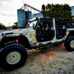 Lone Star 4X4 Camo Jeep Wrangler Drivers Side