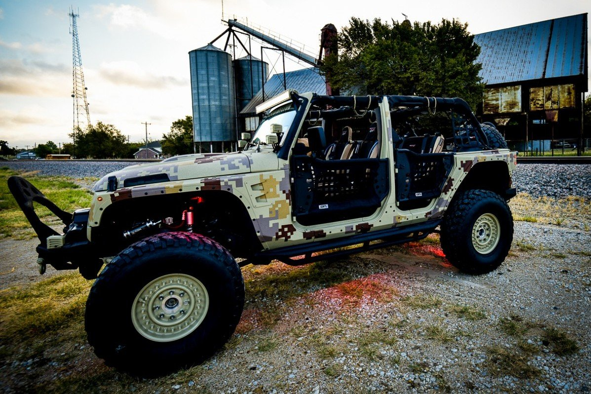 Tricked Out Jeep Wrangler Celina TX Lone Star 4x4