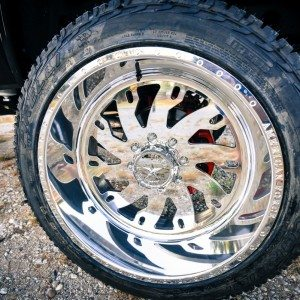 2015 GMC Denali American Force Wheel