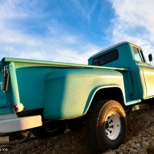 1959 Chevy Apache Truck Bed and Rear Fender