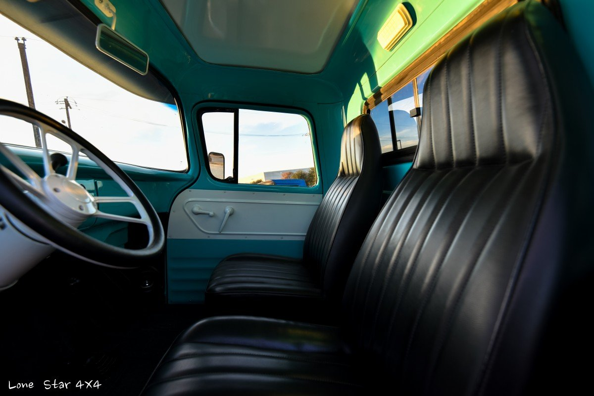 1959 Chevy Apache Truck Leather Interior