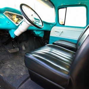 1959 Chevy Apache Truck Front Interior