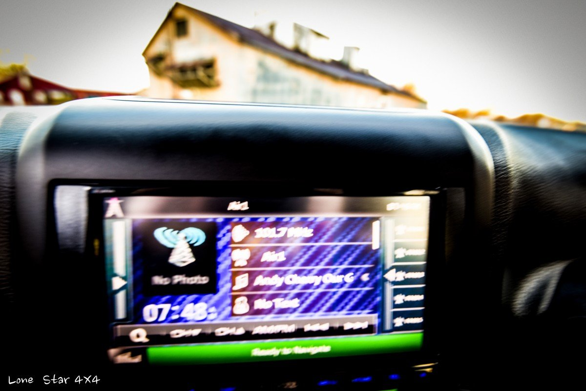 Baylor Bears Jeep Wrangler Audio and Navigation System