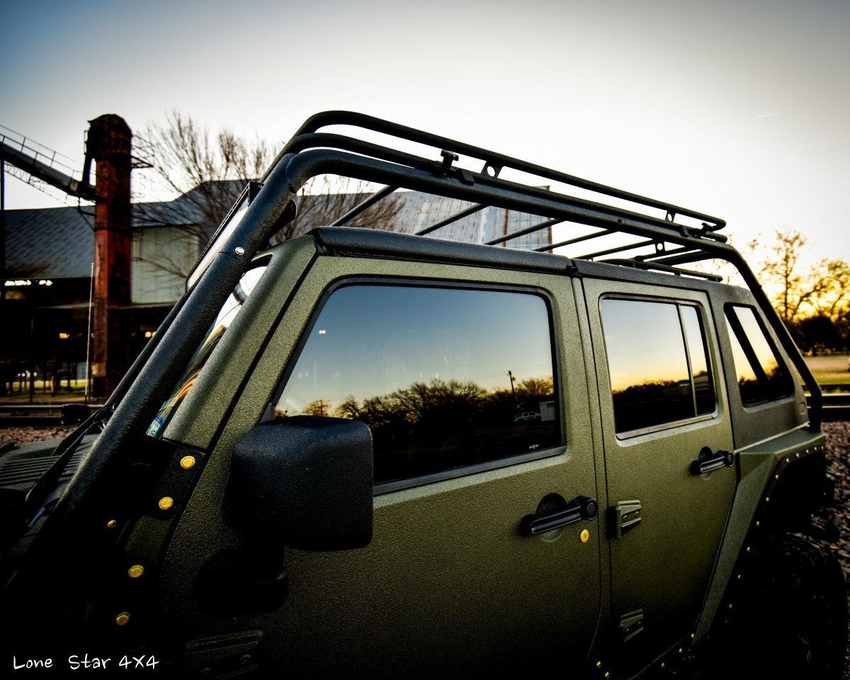 Baylor Bears Jeep Wrangler Top Rack