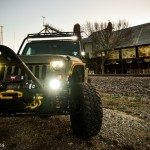 Baylor Bears Jeep Wrangler Front View