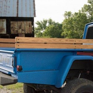 1964 J300 Jeep Bed and Bed Rails
