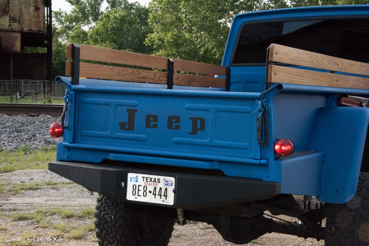 1964 Jeep J300 Rear View