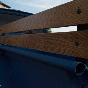 1964 J300 Jeep Wooden Bed Rails