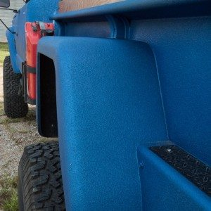 1964 J300 Jeep Rear Custom Fender