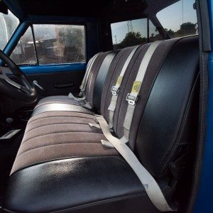1964 J300 Jeep Interior Bench Seating