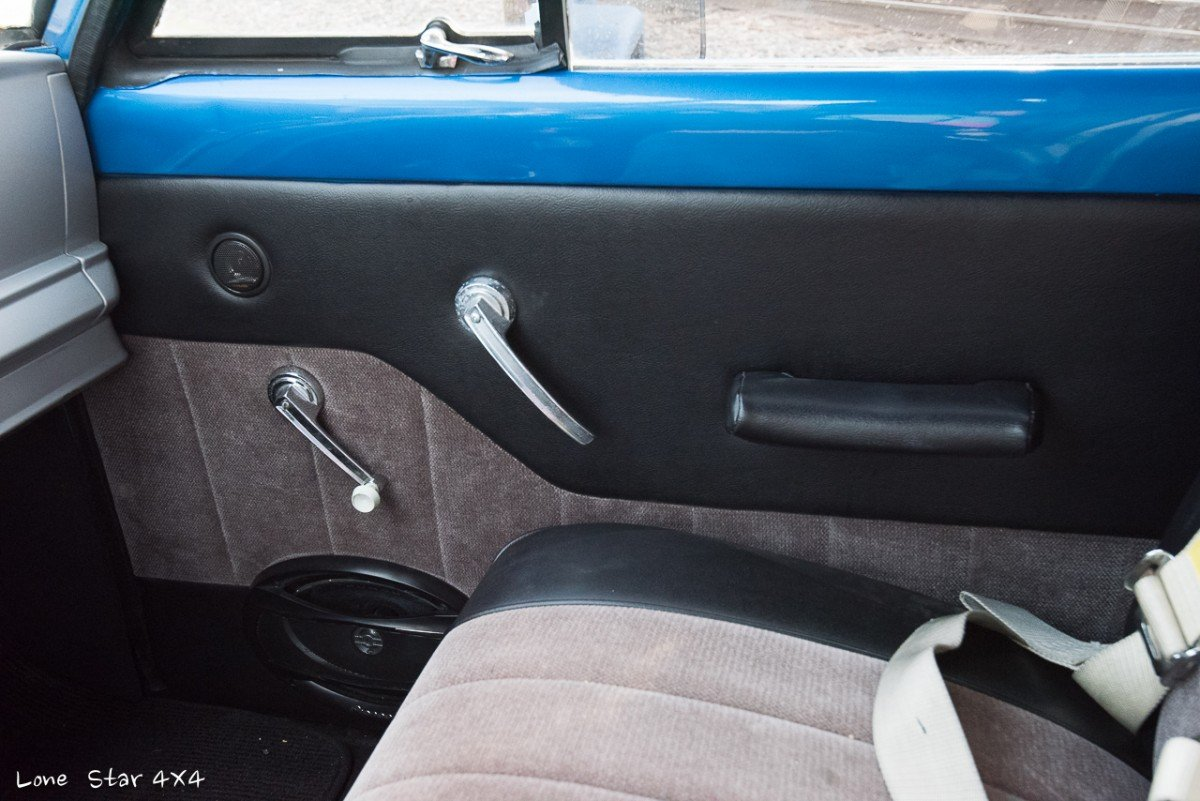 1964 J300 Jeep Interior Door