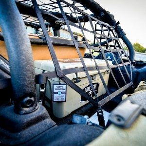 Lone Star 4X4 Camo Jeep Wrangler Rear Netting