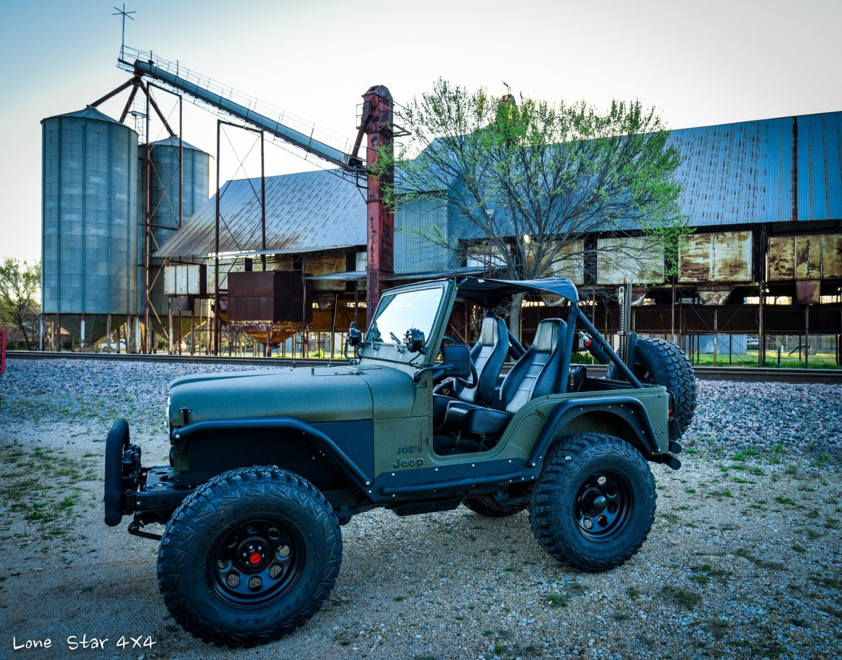 Custom frame off restoration 1979 jeep cj 1 of 26 lone for Cj custom homes