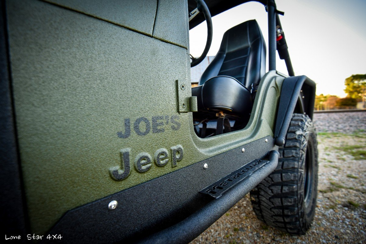 1979 CJ5 Custom Joe's Jeep Logo
