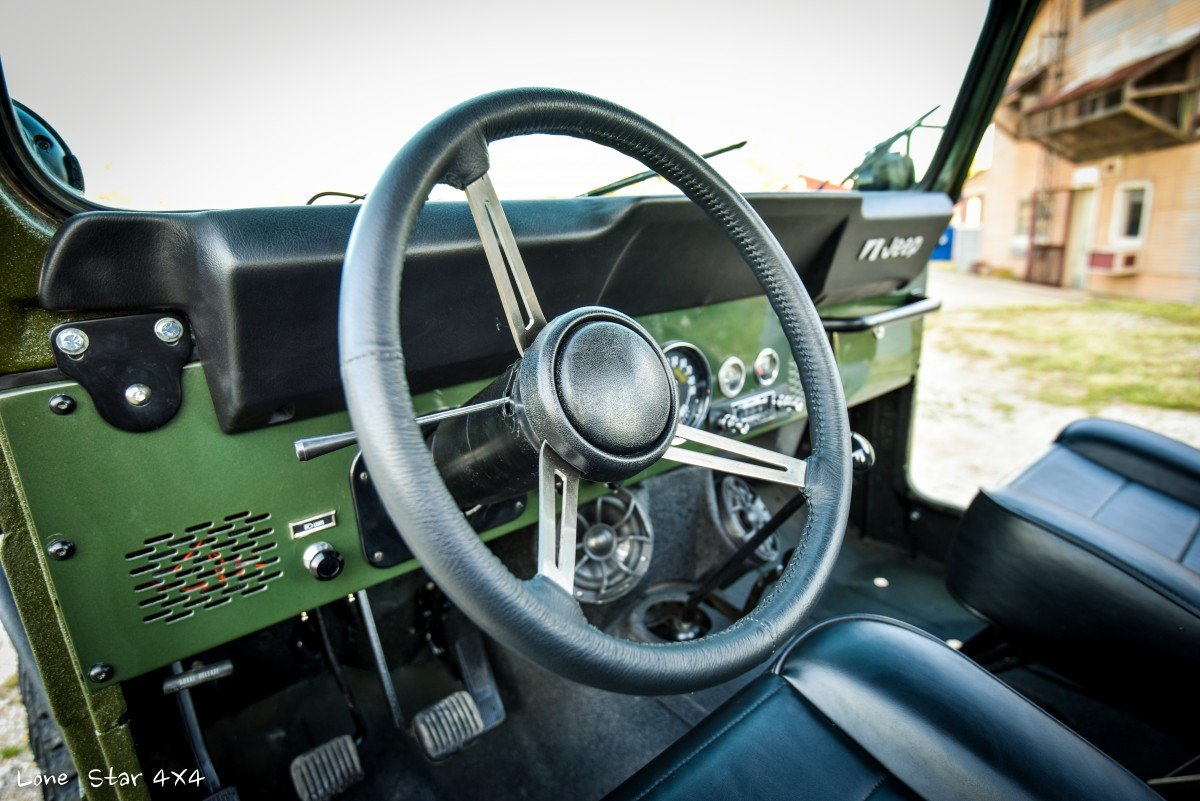 1979 CJ5 Steering Wheel