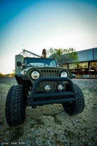 Front View of 1979 CJ5