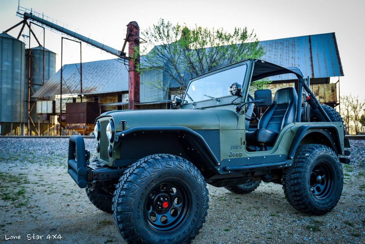 Drivers Side View of 1979 CJ5