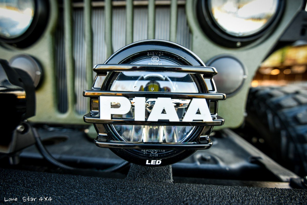 1979 CJ5 PIAA Custom LED Light