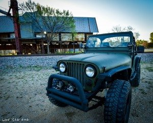 Front Drivers Side View of 1979 CJ5