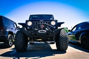 Custom Jeep Wrangler Hemi Conversion Front View