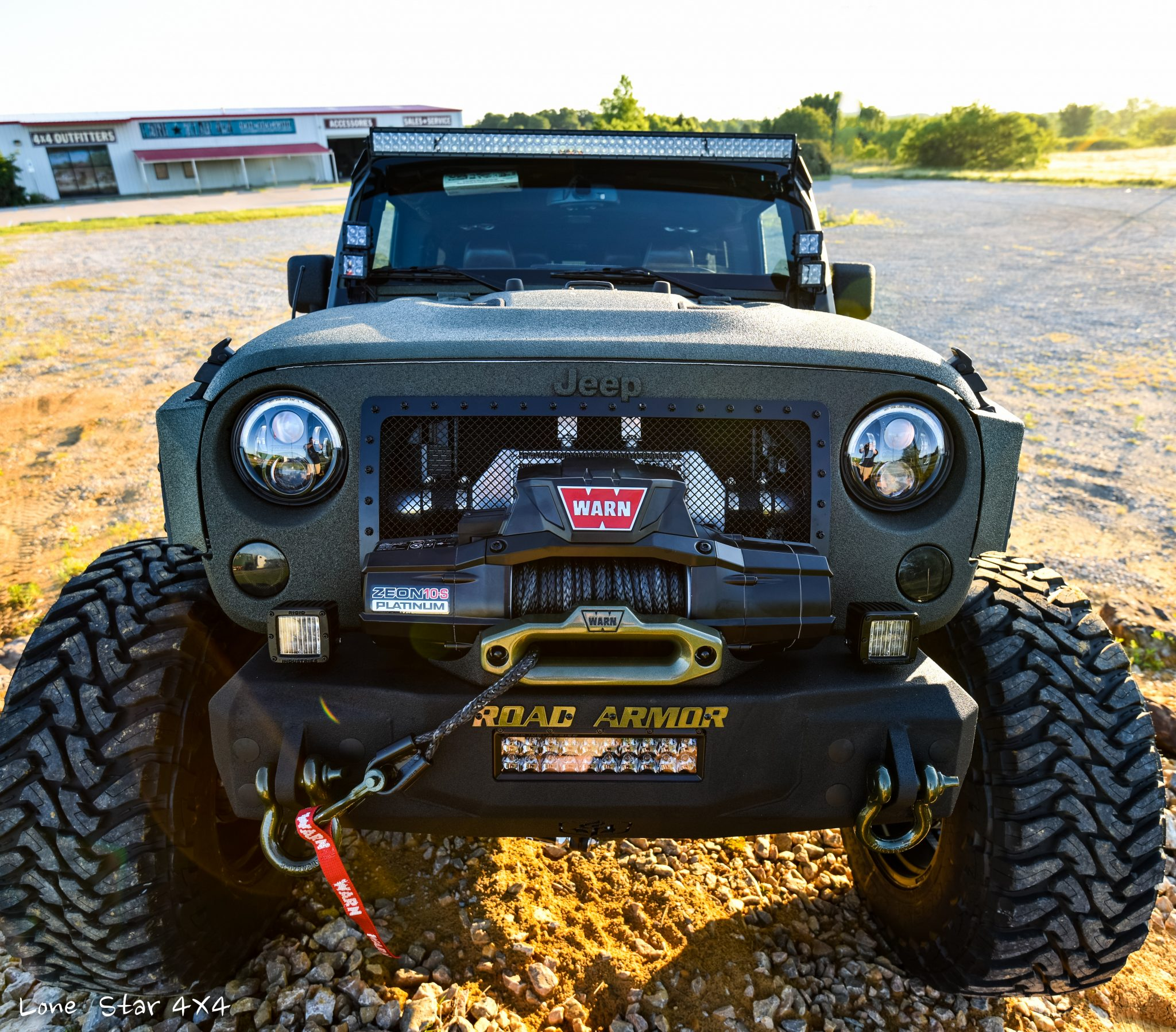 RIPP Supercharged Jeep Front View