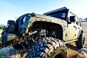 RIPP Supercharged Jeep Front Tire View