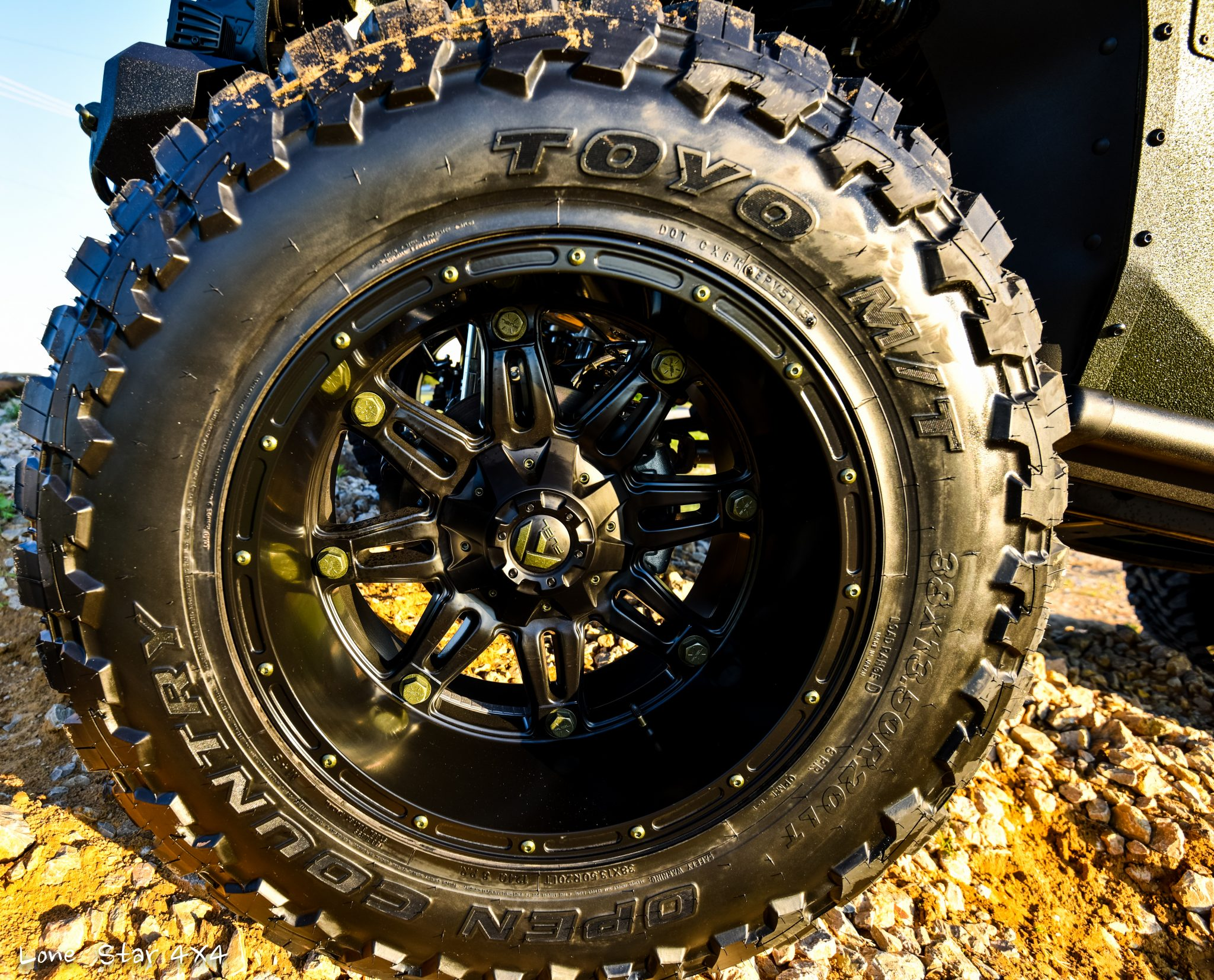 RIPP Supercharged Jeep Offload Wheels and Toyo Tires