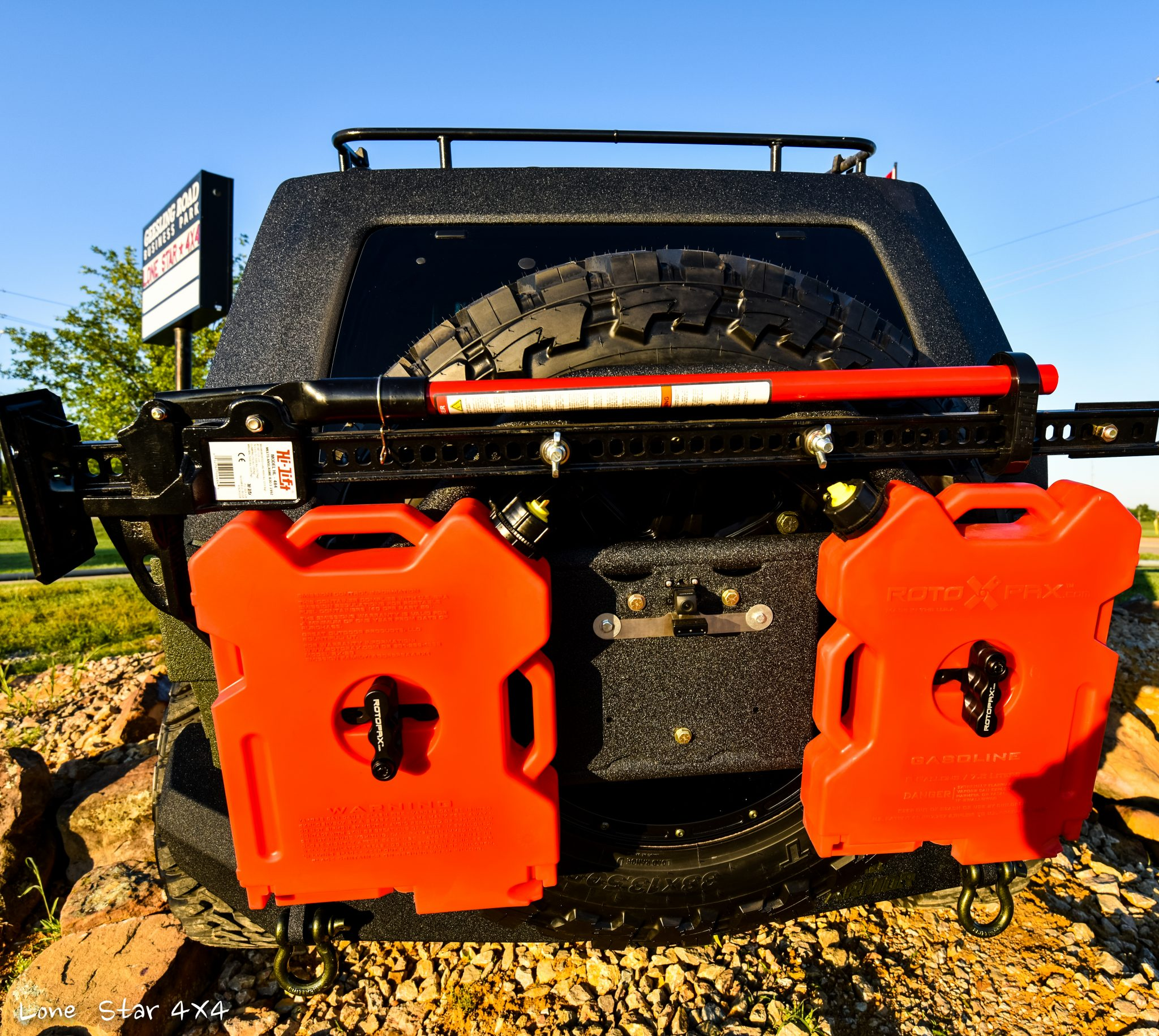 RIPP Supercharged Jeep Rear View