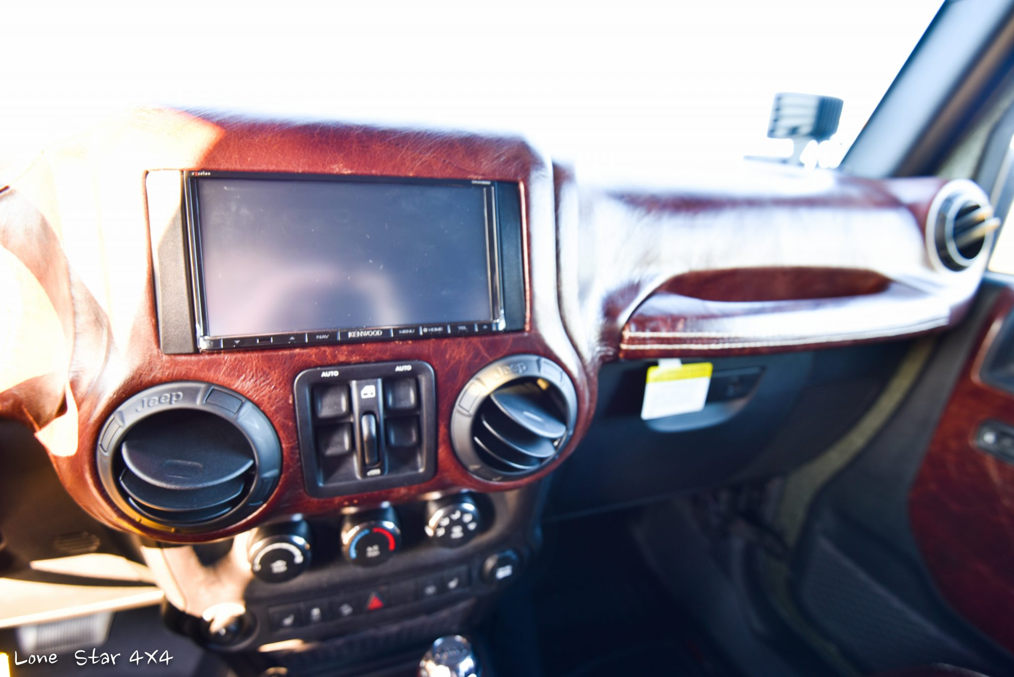 RIPP Supercharged Jeep Custom Leather Dashboard