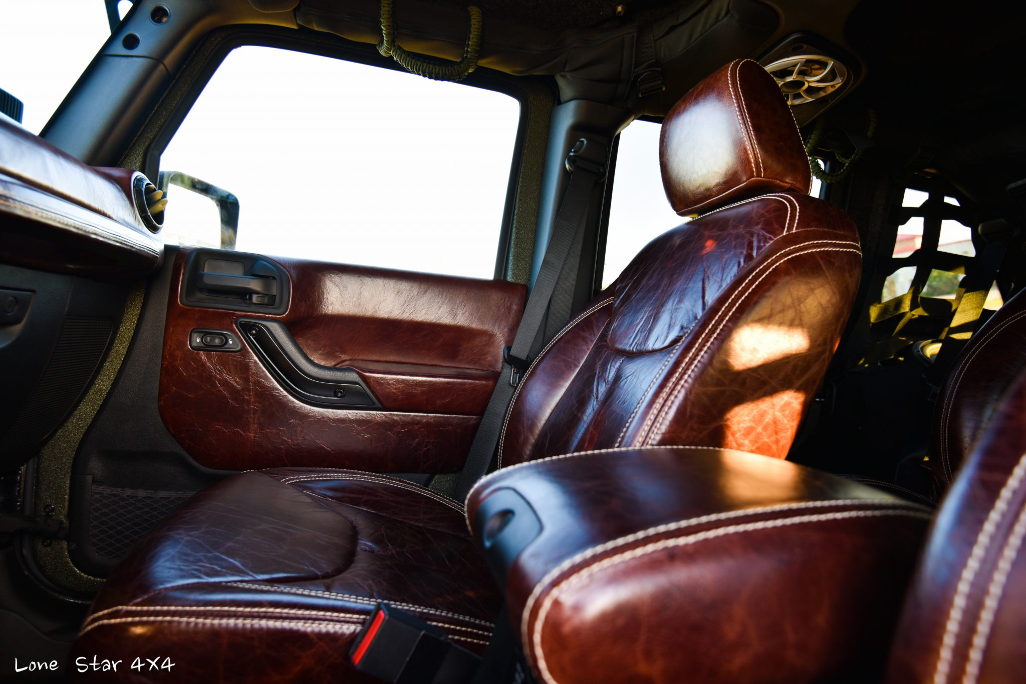 RIPP Supercharged Jeep Custom Leather Interior