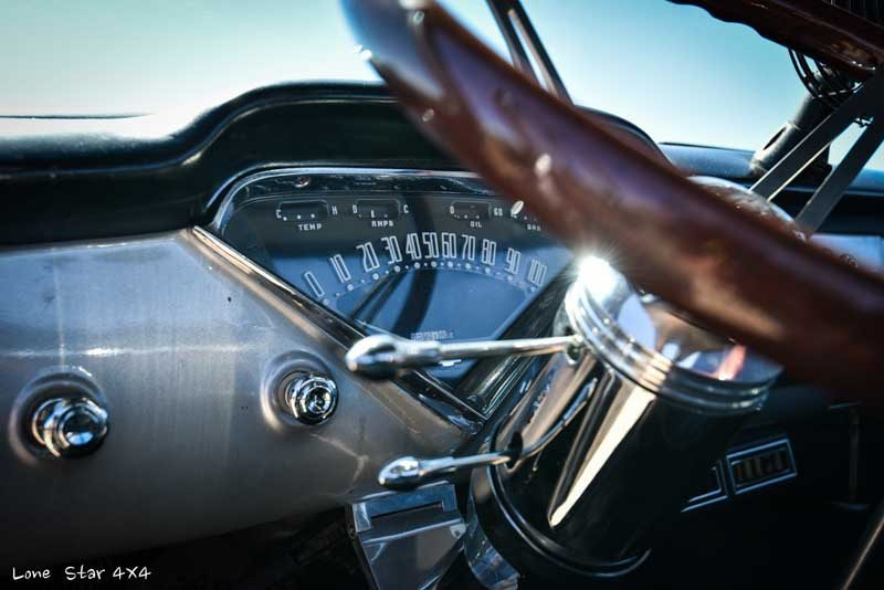 1957 Big Window Chevy Truck Speedometer