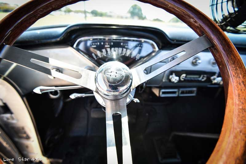 1957 Big Window Chevy Truck Steering Wheel